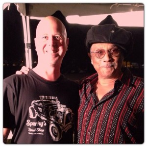 Sparky and Al McKay of Earth, Wind & Fire.