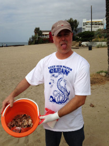 David-Topanga-Beach-cleanup