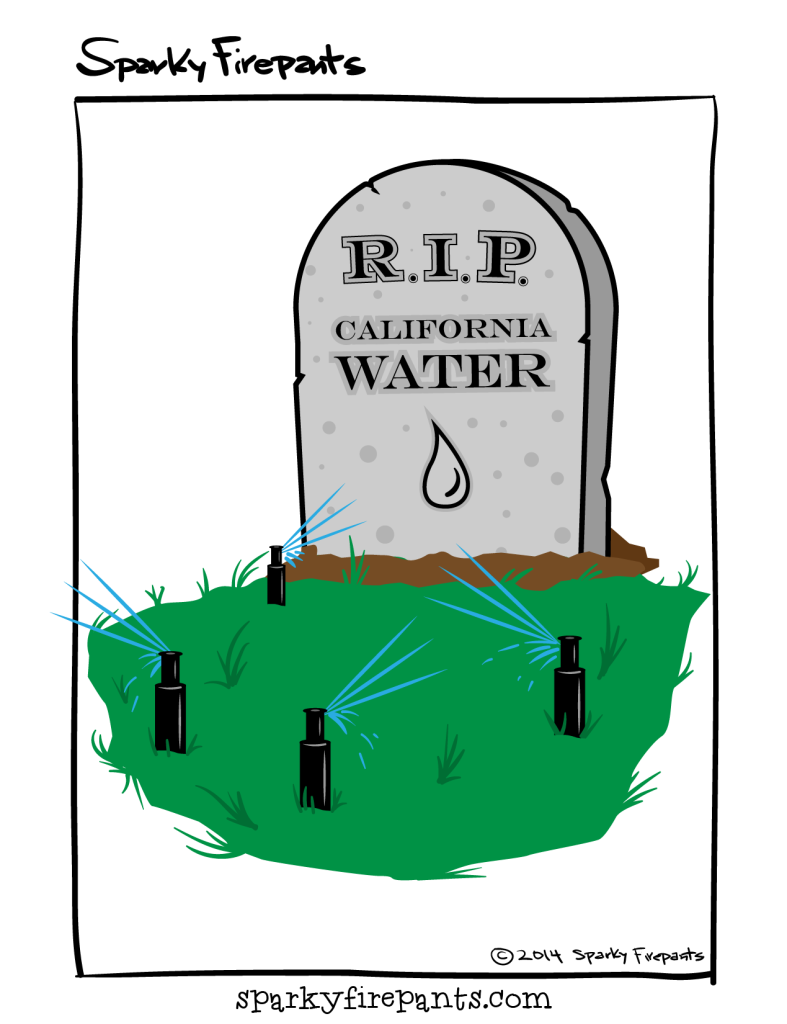 RIP California water ©Sparky Firepants