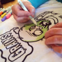 Color Your Own T-shirt with Fabric Markers