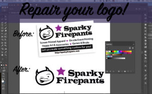 Repair your logo!